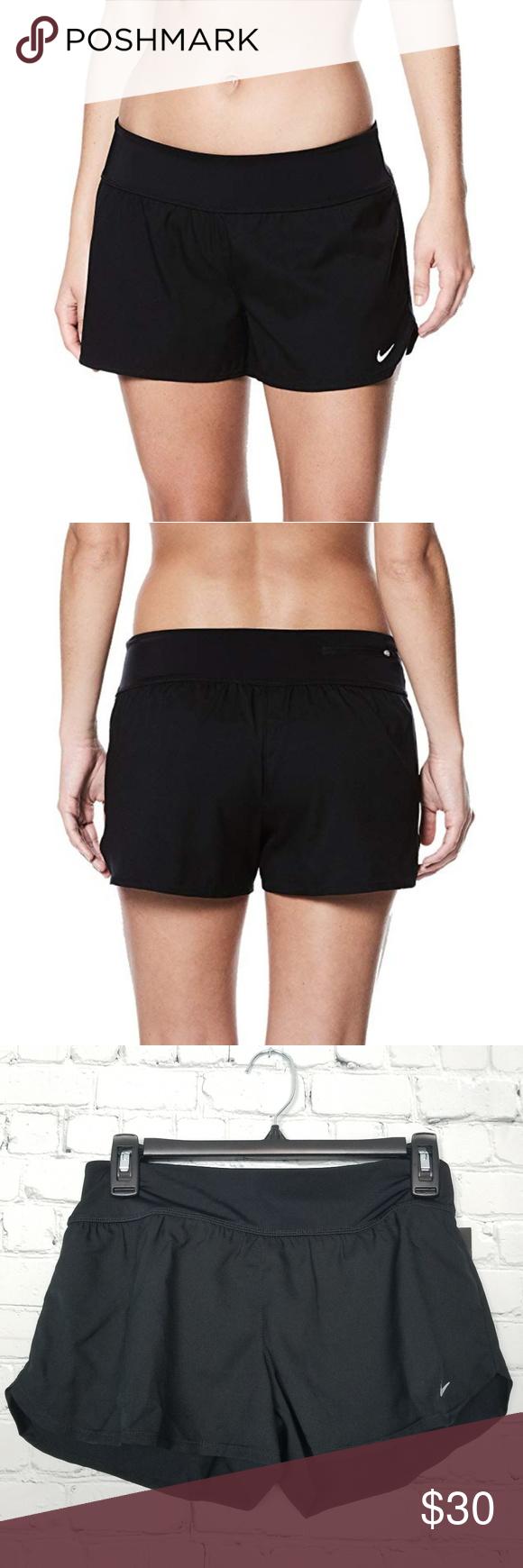 b0db0c6c1314 NWT Nike Womens Solid Element Swim Board Shorts New with tags