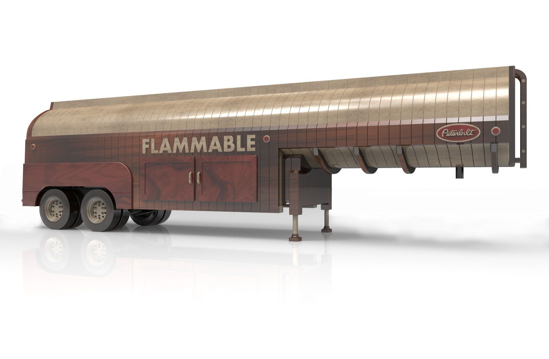 peterbilt 281 oil tanker | wood toy plans forums | my saves