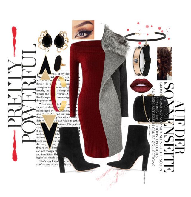 """""""Hace color"""" by hershmarina on Polyvore featuring Gianvito Rossi, River Island, Carbon & Hyde, Jaeger, VANINA, Yves Saint Laurent, Bounkit and Serpui"""