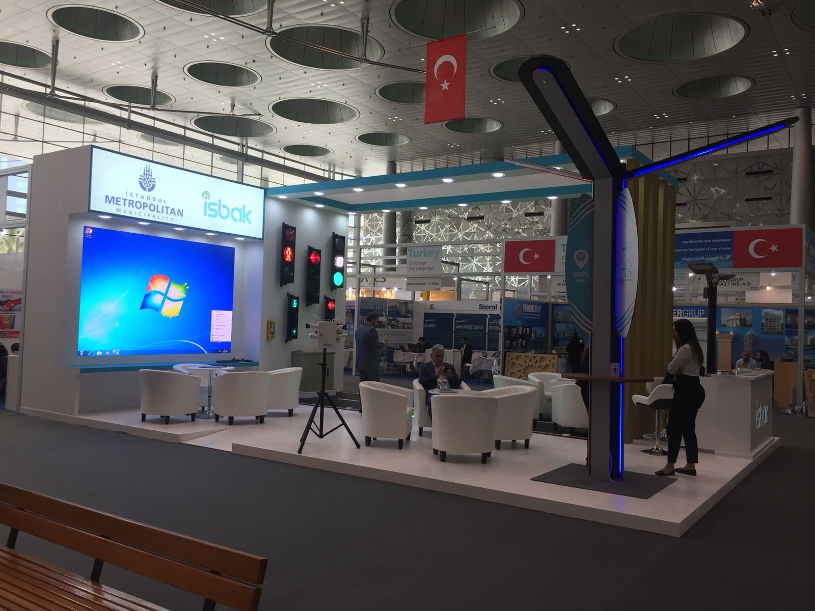 Exhibition Stand Contractors In Doha Qatar : Exhibitions stand build up in project qatar standbuilders stand