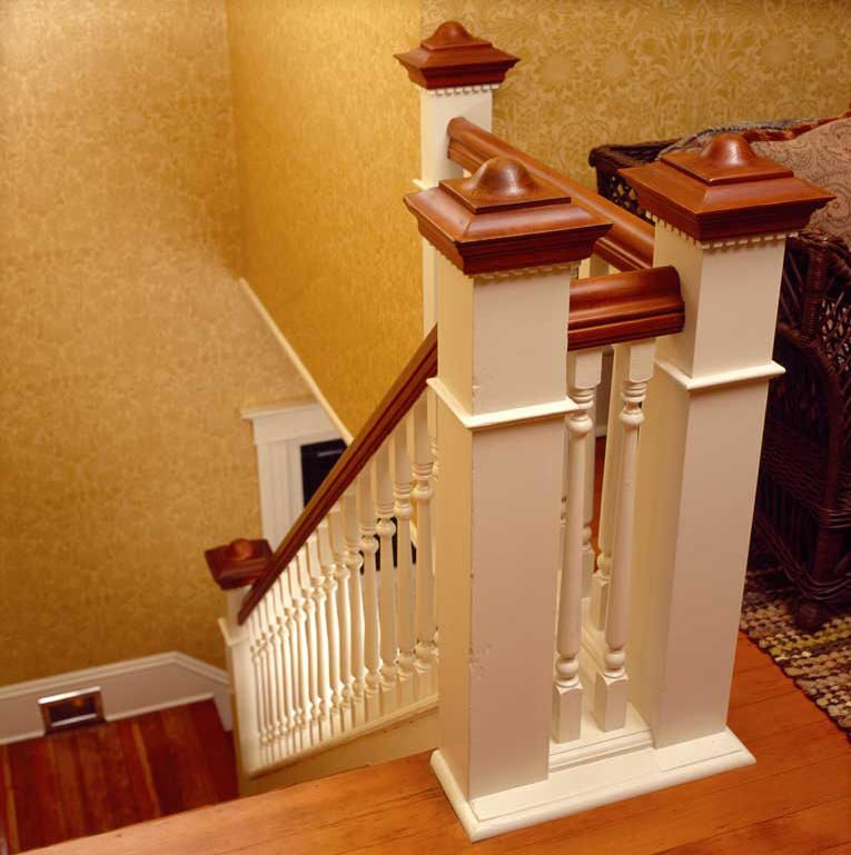 Beautiful Interior Staircase Ideas And Newel Post Designs: Stair Newel Post, Home Stairs