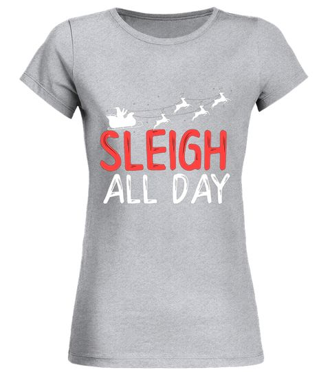 eee8783b Sleigh All Day Slay Reindeer Christmas Holiday Pun T Shirt horse t-shirts  with funny sayings, horse t-shirts for sale, horse t shirts with sayings,  ...