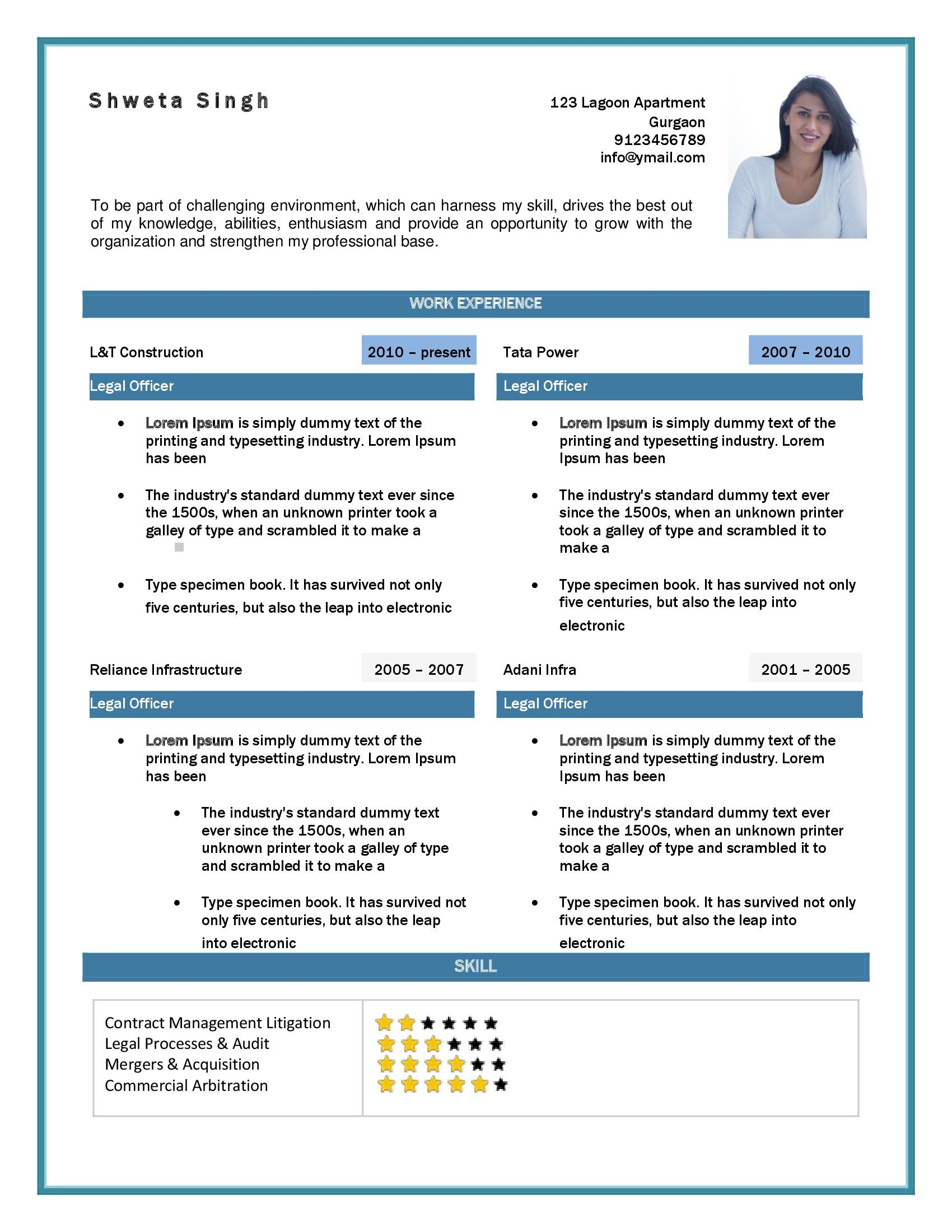 Sample Resume Volunteer Experience  Resume With Volunteer