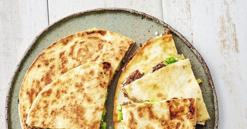 Photo of Avocado-Quesadillas