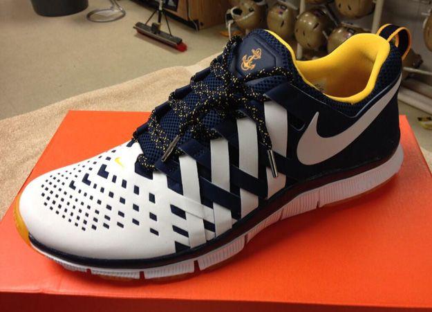 b8c7febc805f Nike Free Trainer 5.0 NAVY MIDSHIPMEN PE
