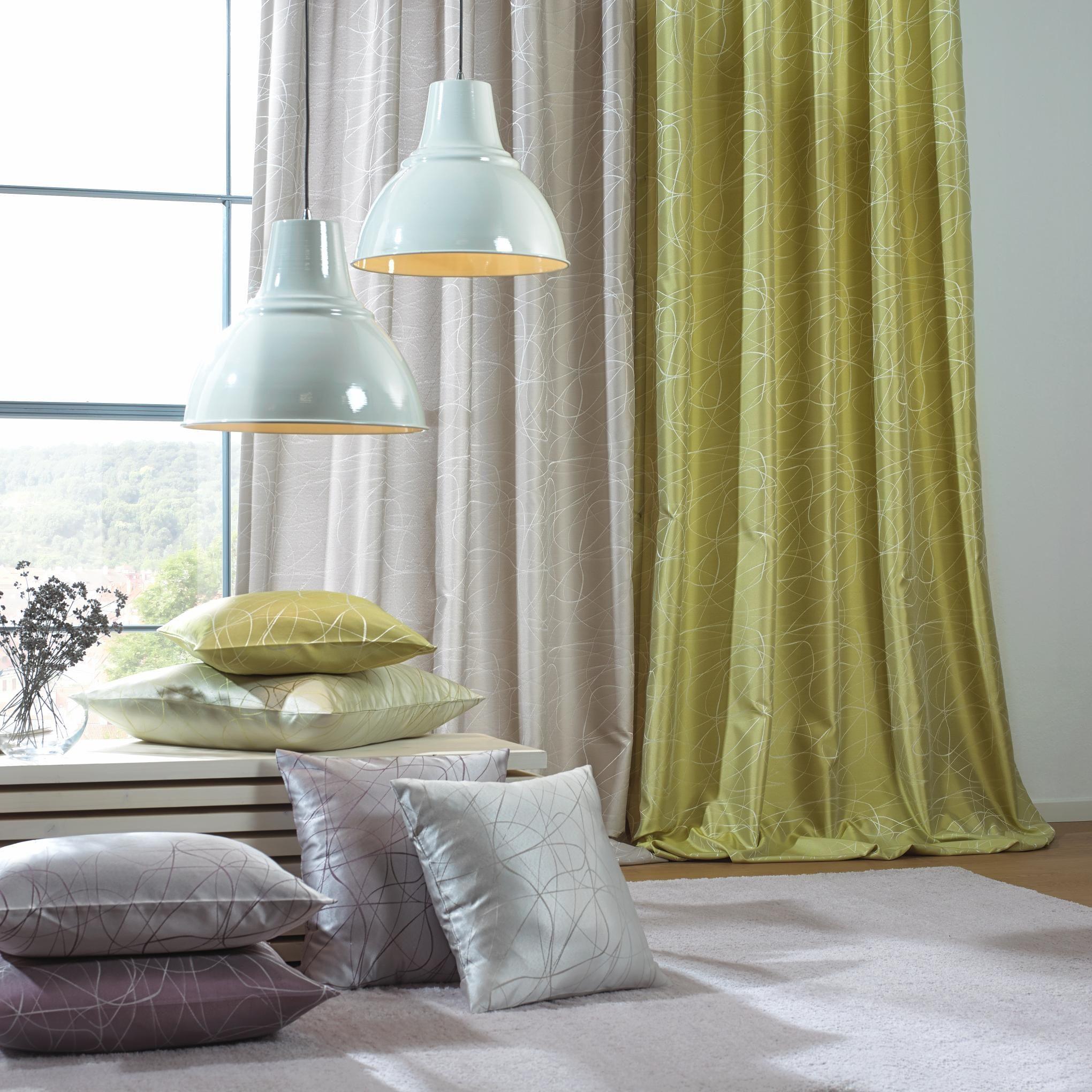 Frisches Grün für Ihre Wohnung: Dekostoff von ESPOSA | Vorhänge ...