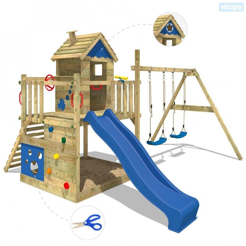 Kletterturm Smart Lodge Spielturm Wickey De Spielturm Kinder Spielhaus Garten Rutsche Garten