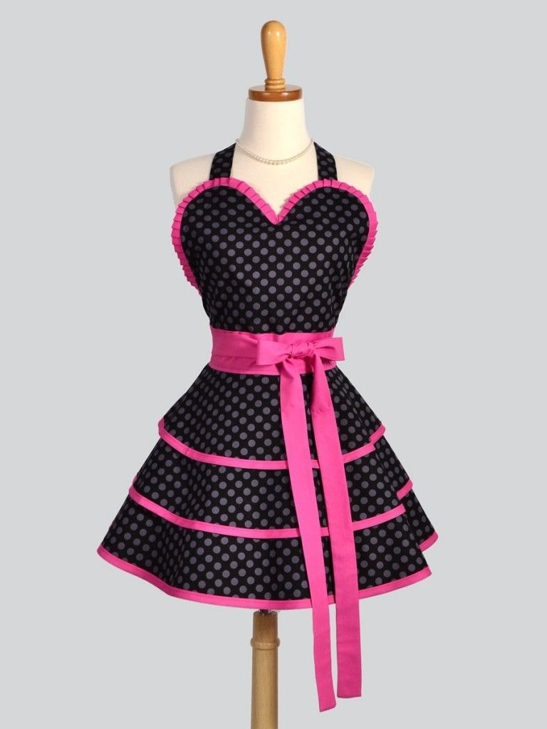 I don\'t cook, but, I wood wearing this! How cute is that ...