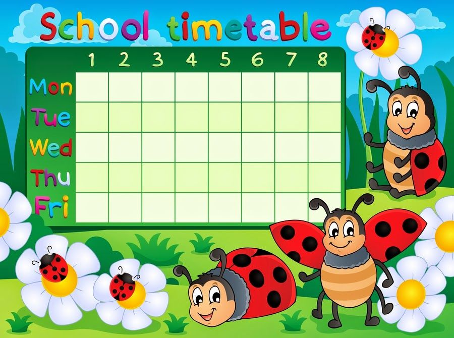 Maria jose argueso school timetables timetable best schools classroom behavior also image result for designs time table charts class  rh pinterest