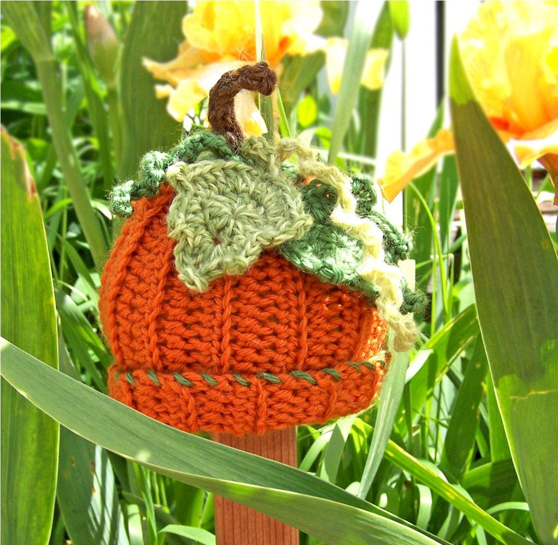 Pumpkin baby hat photo prop Hat. $23.00, via Etsy.