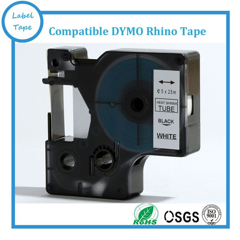 10PK Free shipping 9mm*25m RS5W compatible DYMO Rhino label tape - free shipping label maker