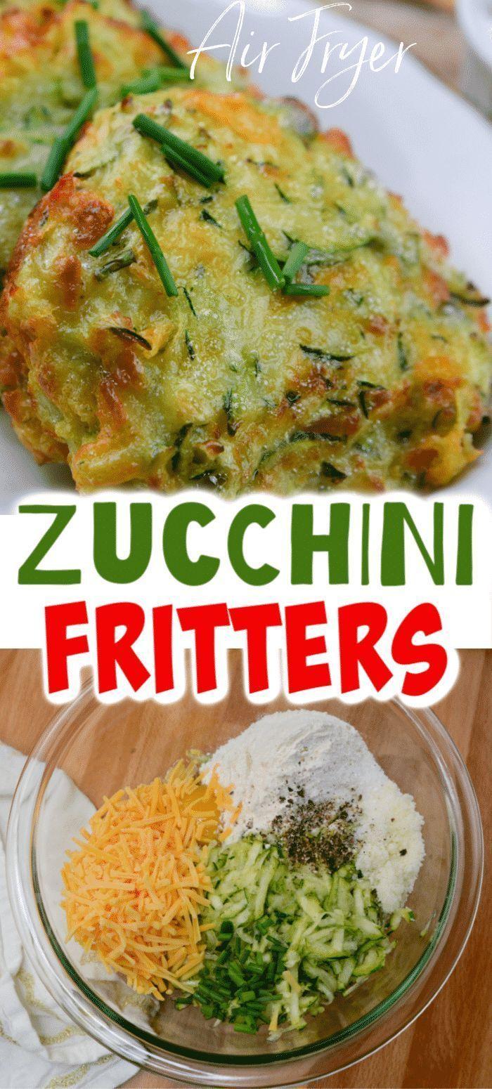 The Best Air Fryer Zucchini Fritters Recipe in 2020