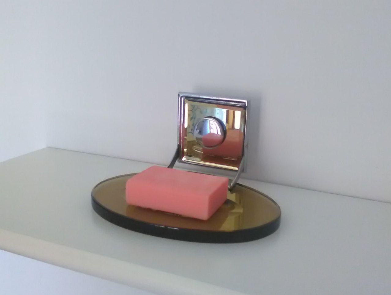 Scopino Bagno ~ Portascopino girevole in ceramica ad incasso u portascopino