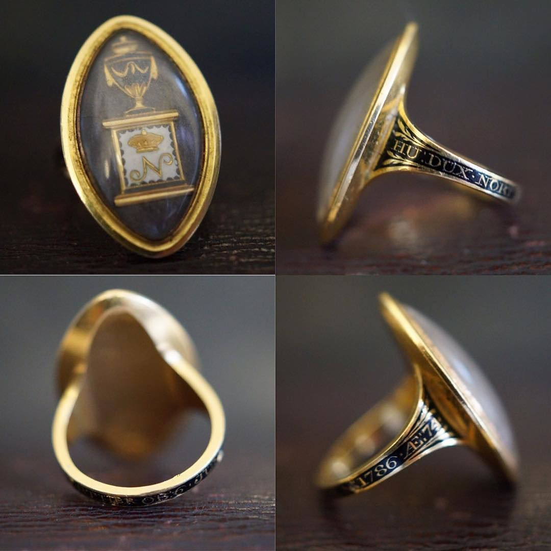 New in A wonderful 1786 mourning ring for Hugh Percy the 1st Duke