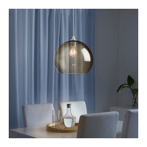 JAKOBSBYN Pendant lamp shade, light brown Pendant lamps - möbel pallen küchen