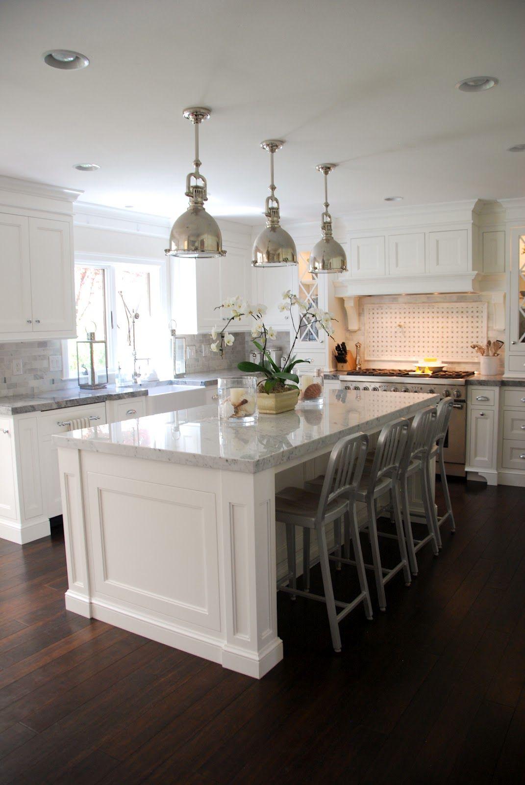 white macaubas quartzite kitchen traditional with ceiling flush