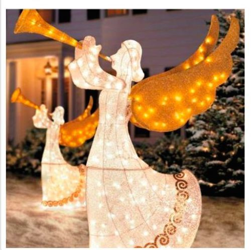 Beautiful Animated Outdoor Christmas Angels For Your Yard