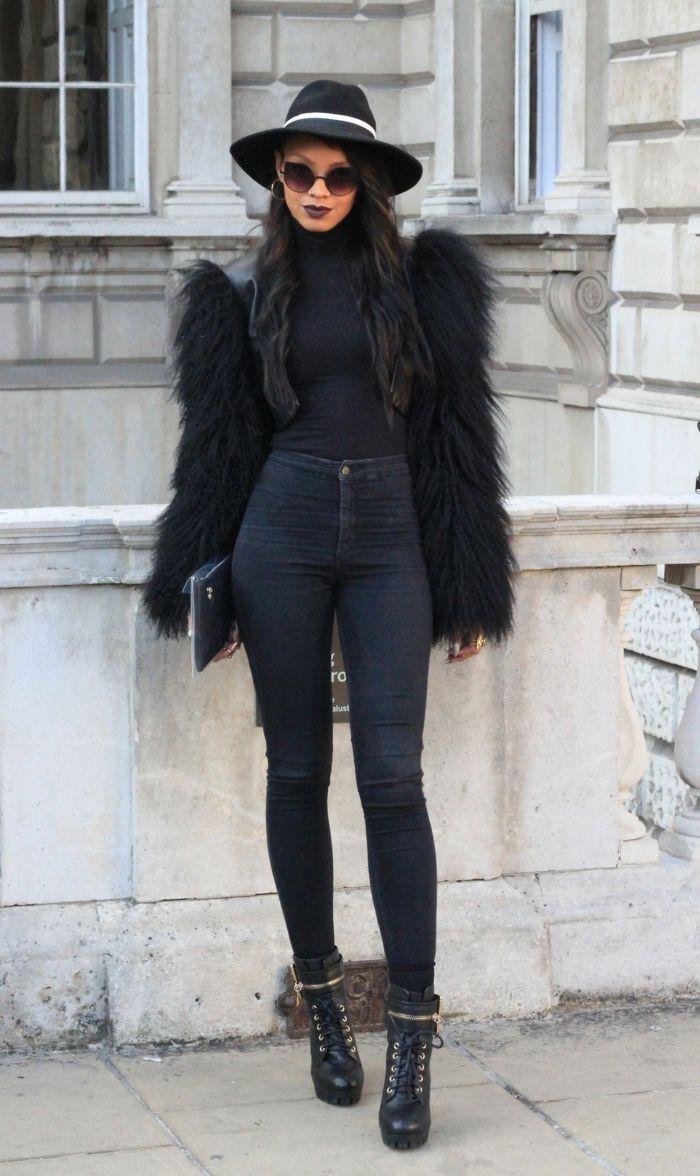 ▷ 1001+ bonnes raisons pourquoi s'habiller en noir   veste en