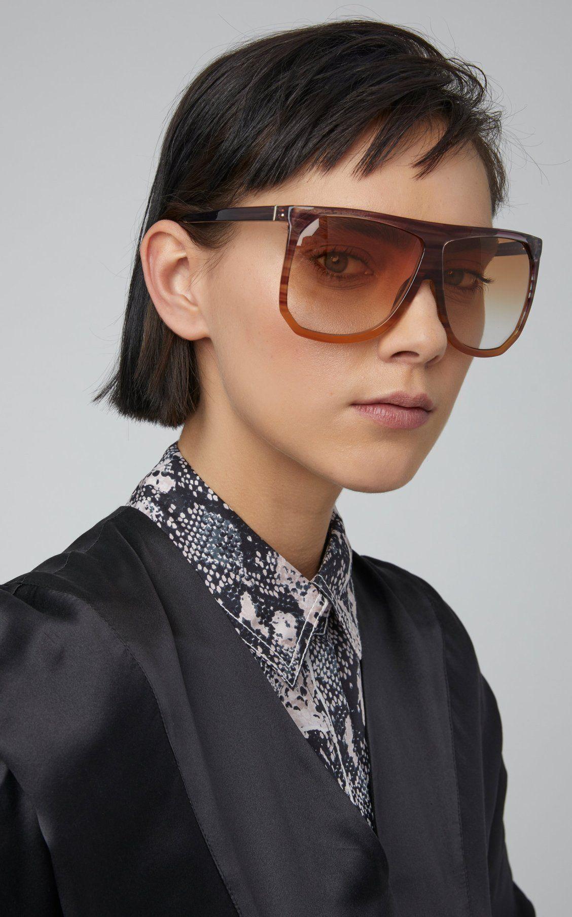 4b23c7edb2f9 Filipa Two-Tone Acetate Sunglasses by Loewe Sunglasses SS19 ...
