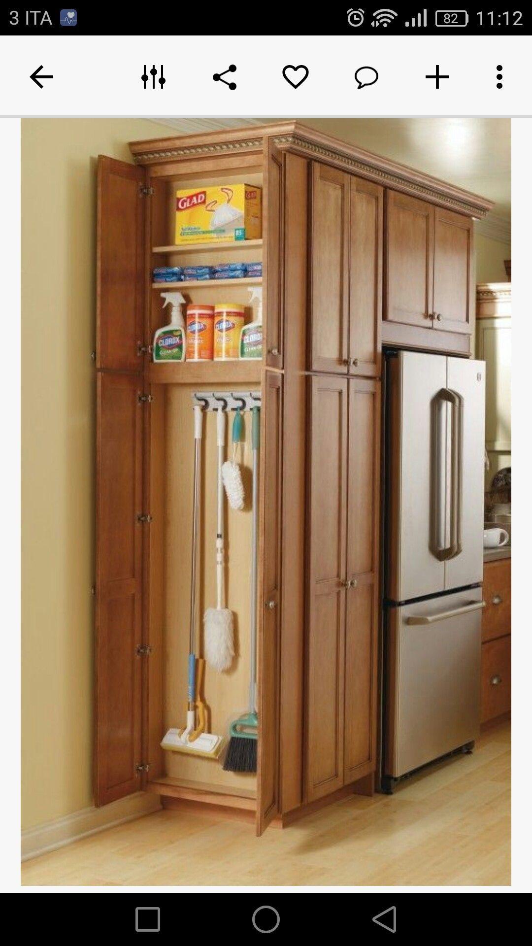 Kitchen storage tipa foto housekeeping stuff