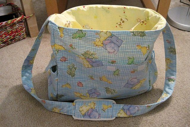 So you got that wonderful big diaper bag at your baby ...