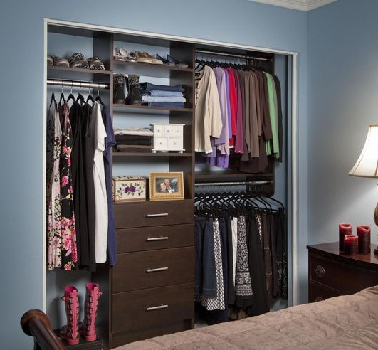 Wall Closet Furniture Ideas For Space Saving Bedroom Closet