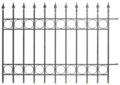 Decorative Aluminum Garden Fences Iron Fence Wrought Iron Fences Fence Toppers