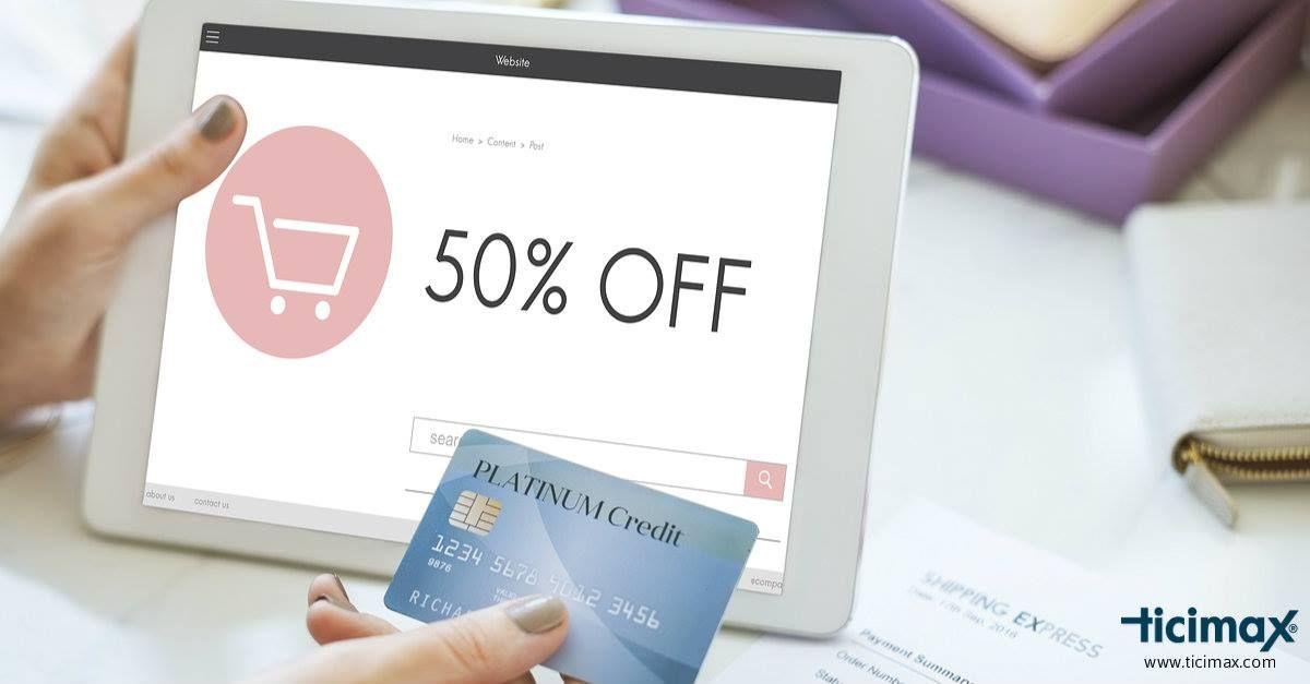 Online alışverişlerde en çok tercih edilen ödeme yöntemleri; Kredi kartı, kapıda nakit ödeme ve kapıda kredi kartı ile ödemedir.  https://www.ticimax.com/  #eticaret #sanalmağaza #eticaretsitesi #onlinesatış #ecommerce #mobilticaret #satışsitesi #ticimax