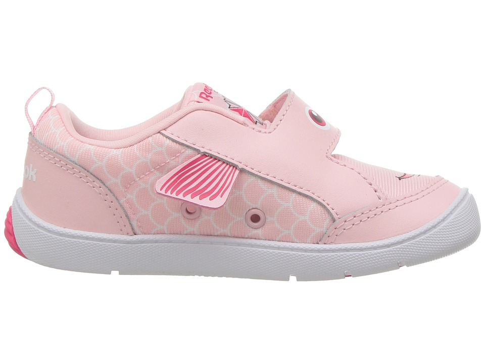 Reebok Kids Ventureflex Chase II Fish (Toddler) Girls Shoes Pink White 840600f26