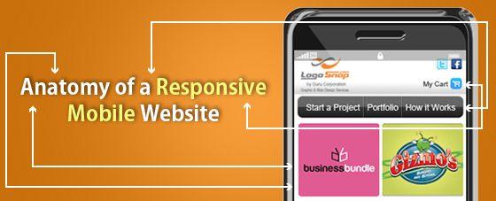 Anatomy of a Responsive Mobile Website | LogoSnap Blog
