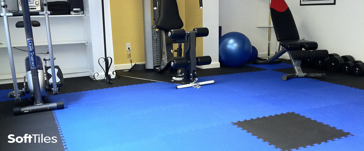 ♧Home Gym♧ Enjoy a variety of workouts on our interlocking