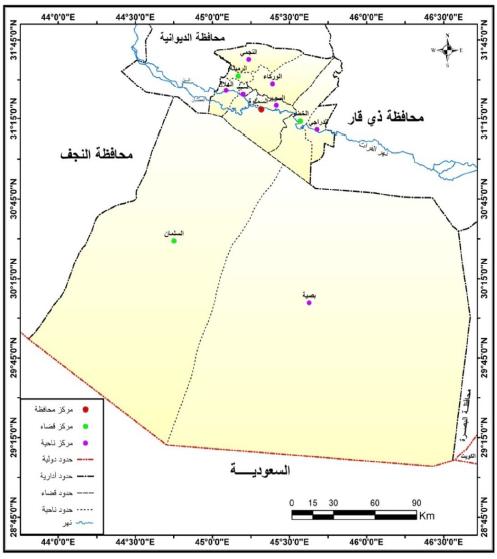 الجغرافيا دراسات و أبحاث جغرافية التحليل المكاني لجرائم الأحداث في محافظة المثنى Places To Visit Geography Blog Posts