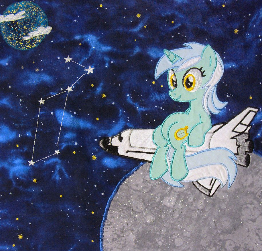 Lyra Quilt Square by buttercupbabyppg