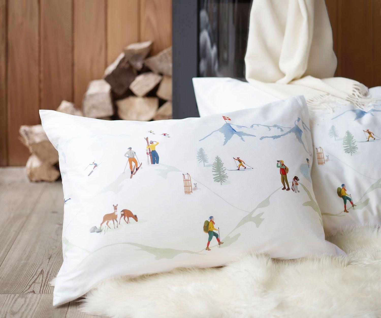Schlossberg Alpina Bettwasche Satin Noblesse Bettwasche Bett