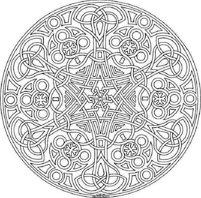 free mandala coloring pages | Design | Pinterest | Mandala coloring ...