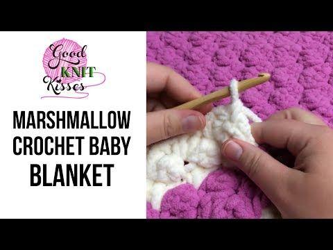 How to crochet a blanket afghan - LarksFoot Tutorial Free Online ...