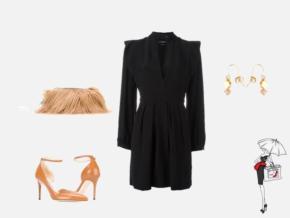 Черное платье на концерт