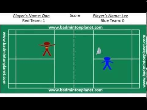 Rules For Badminton Singles By Badmintonplanet Com Badminton Badminton Rules Badminton Videos