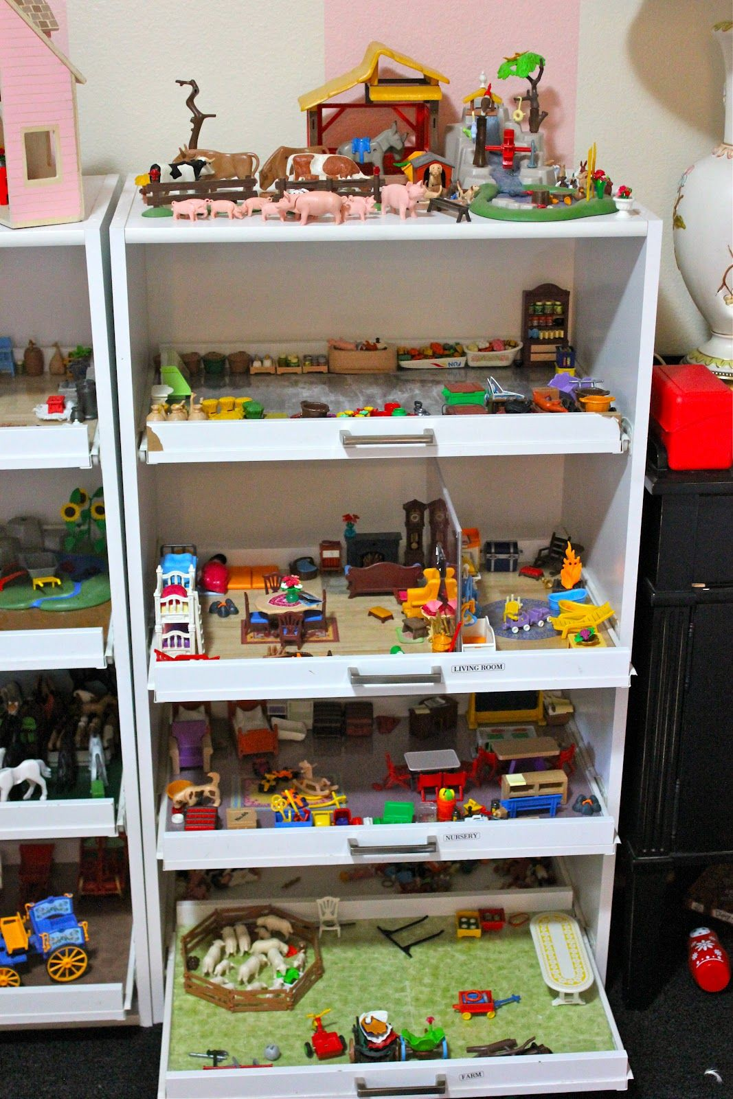 Ideen Aufbewahrung Playmobil He Adopted Me First Play Mobile Kids Pinterest