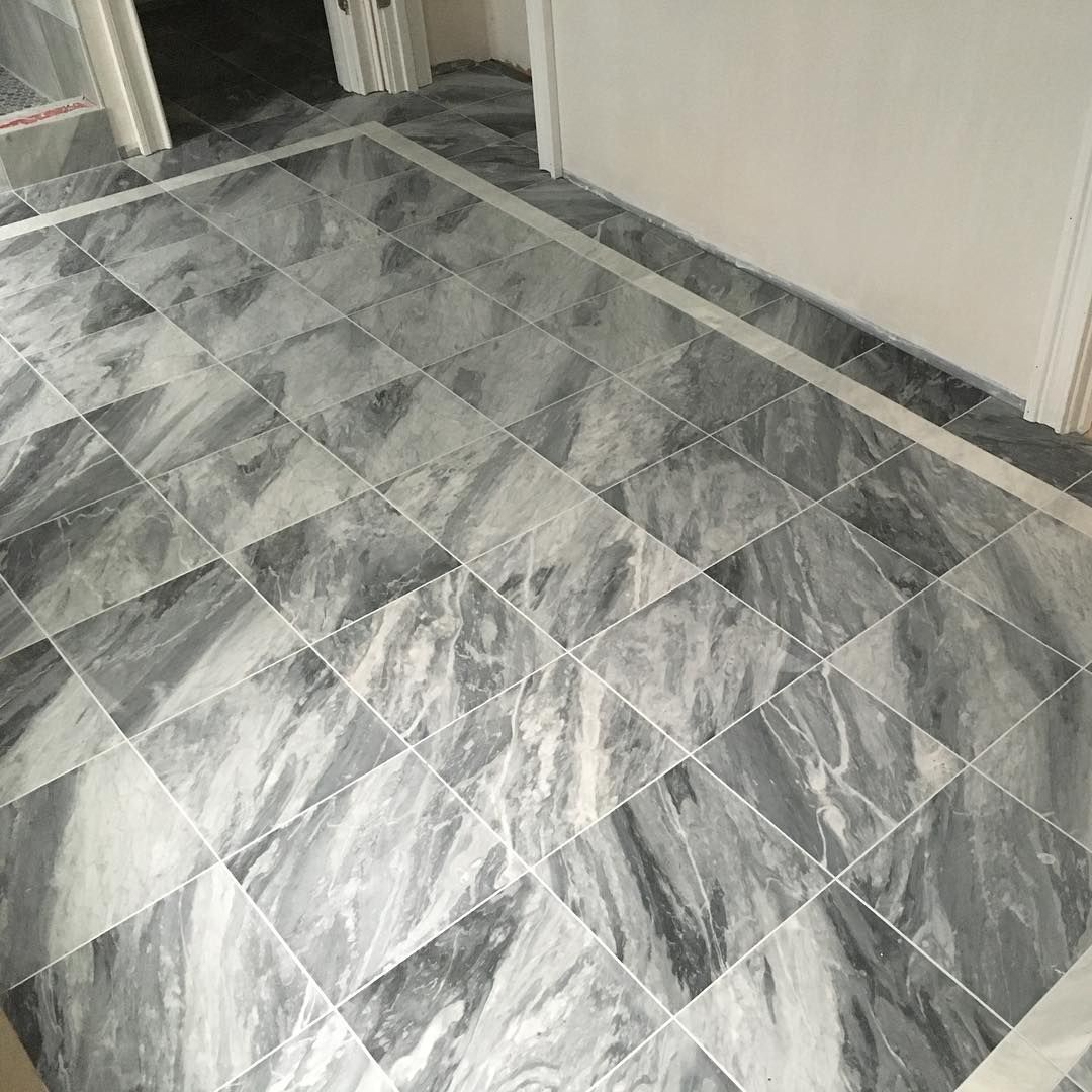12x12 Marble With Custom Border Nice In 2020 Marble Contemporary Rug Decor