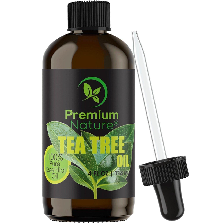 Tea Tree Oil 4 oz Body essential oils, Skin tags
