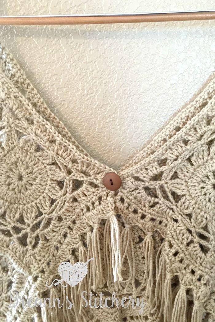 Crochet Boho Tank Top Boho Crochet And Yarns