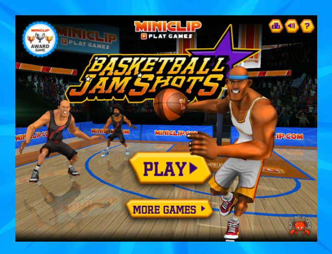 Basketball Jam Shots unblocked play at school Fun games