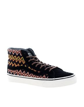 Vans California SK8-Hi Slim Ca Black High Top Trainers
