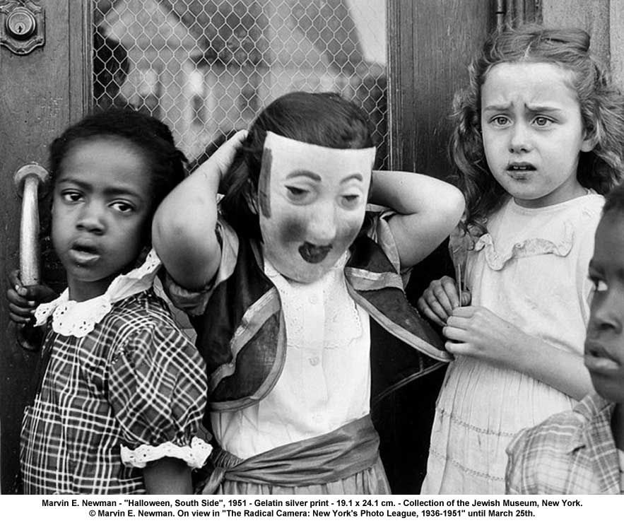 Halloween, South Side, 1951