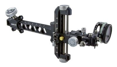 With weather proof and vibration proof components paired with light weight design, the SURE-LOC ONE is SURE-LOC's new number ONE archery sight. Micro drive pointer adjustment, ultra-light dovetail extension, and full capture mounting block all set this sight above the rest. In addition to these great features, the SURE-LOC ONE also has optional recurve adapter, armored 3rd axis, adjustable windage/elevation tension adjustments, center pivot 2nd axis, and a precise laser engraved scale.