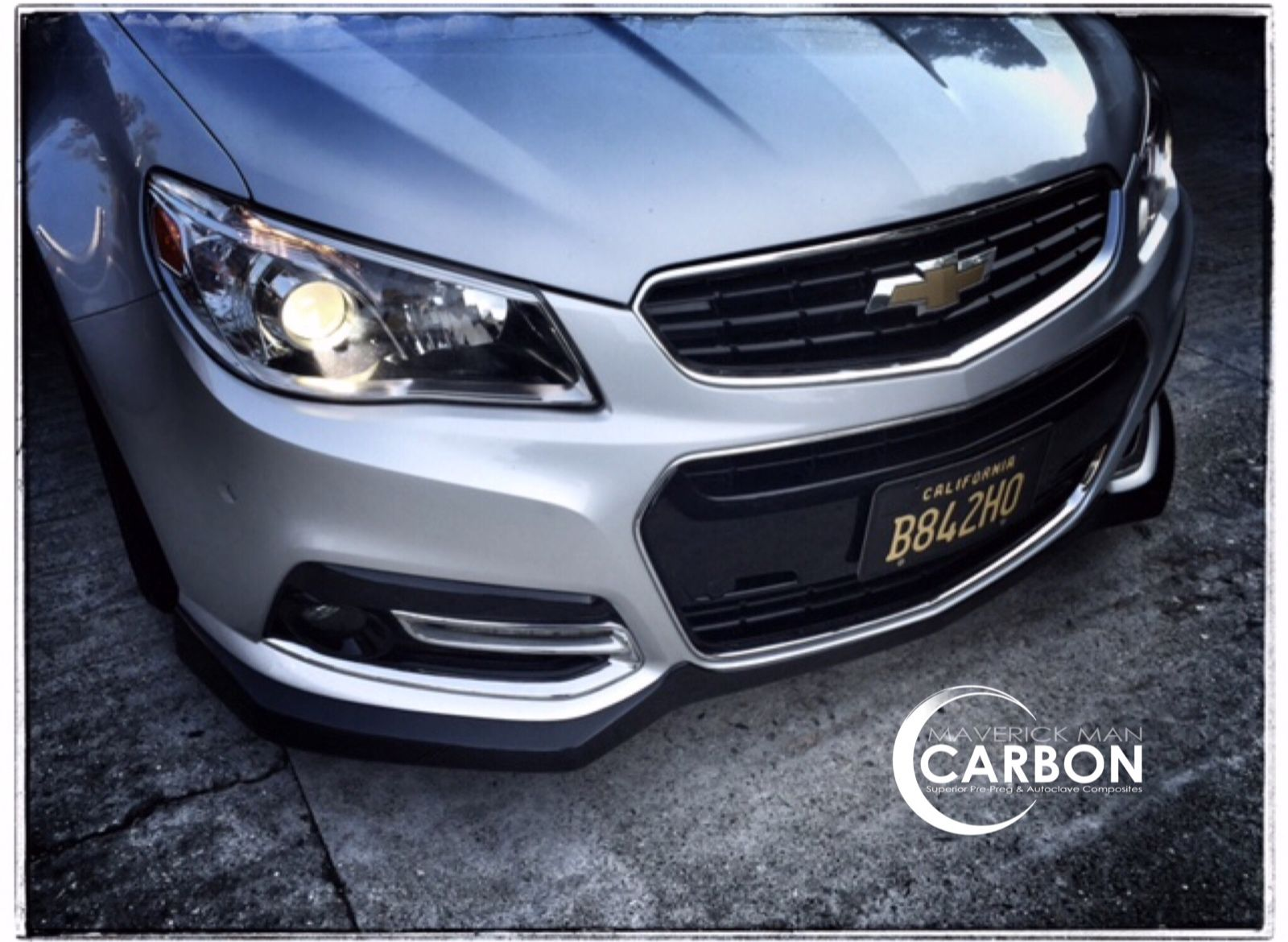 Another happy chevy ss owner with a maverick man carbon front lip