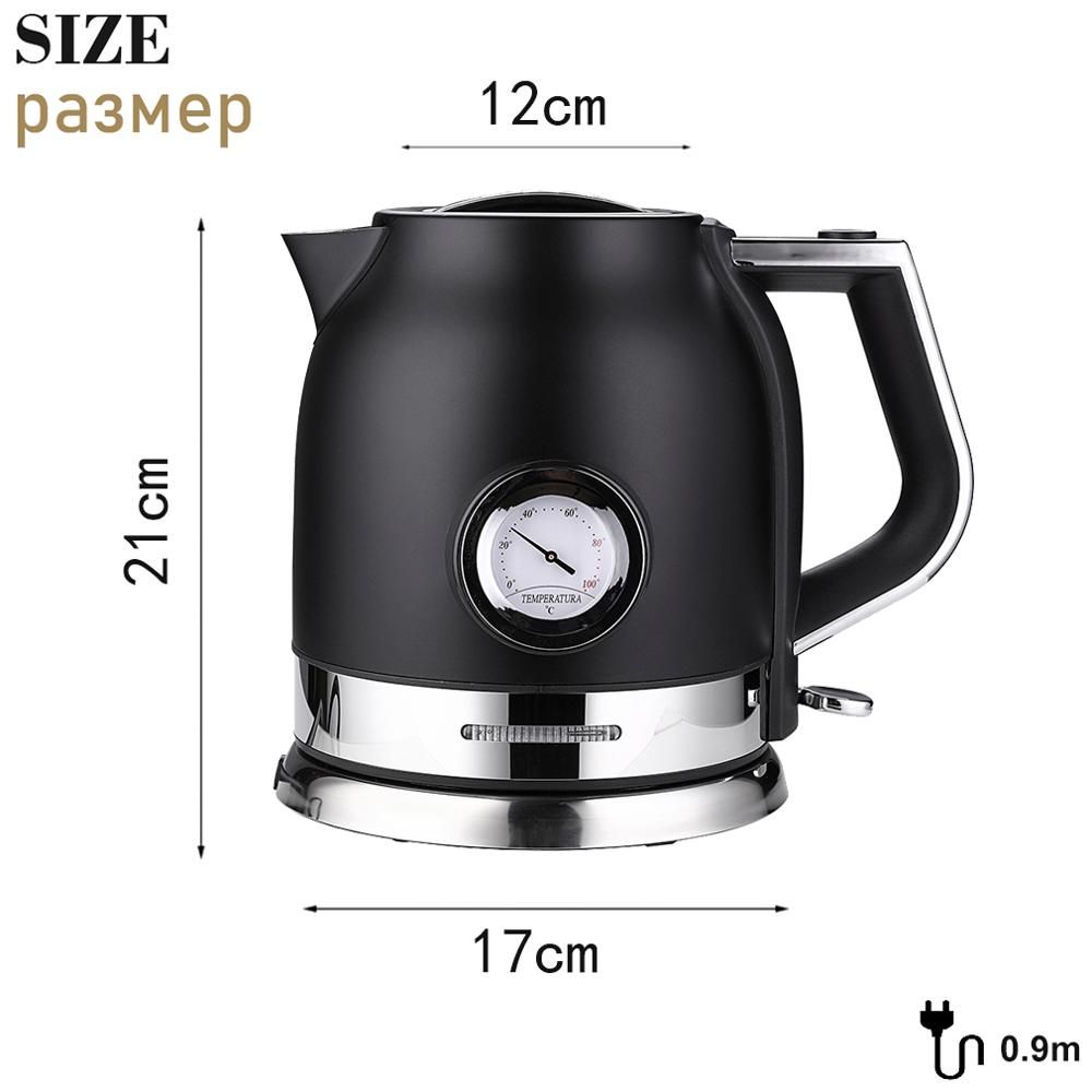 Potts Master Best Electric Kettle Electric Water Kettle Kettle Microwave Oven 1 Liter Of Water