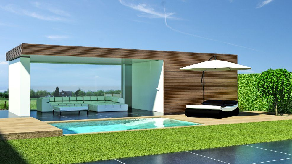 Poolhouse bouwen google search outdoor living pinterest