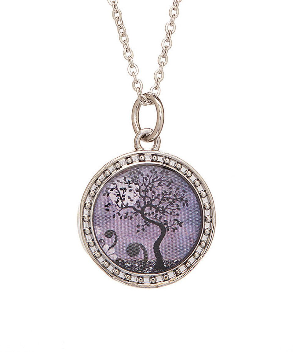 Loving this Vintage Tree of Life Pendant Necklace on #zulily! #zulilyfinds